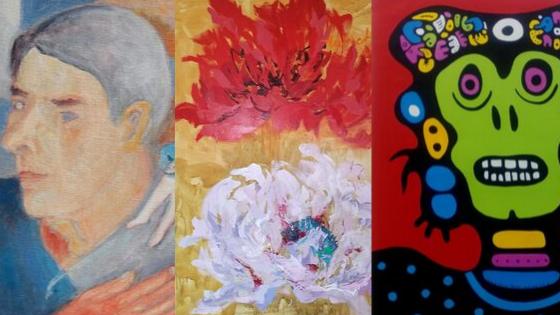 Galleria K | Taiteilijatapaamiset | Taidemaalariliitto 90 vuotta | Maalarin arkea ja juhlaa | Sunnuntaisin 13.10., 20.10., 27.10., 3.11. | Klo 13-14