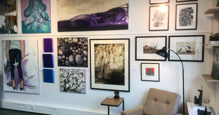 Vantaan taiteilijaseuran Taidelainaamo on uudistettu